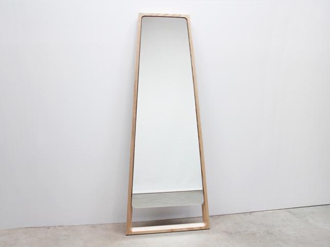 Chamfer Floor Mirror