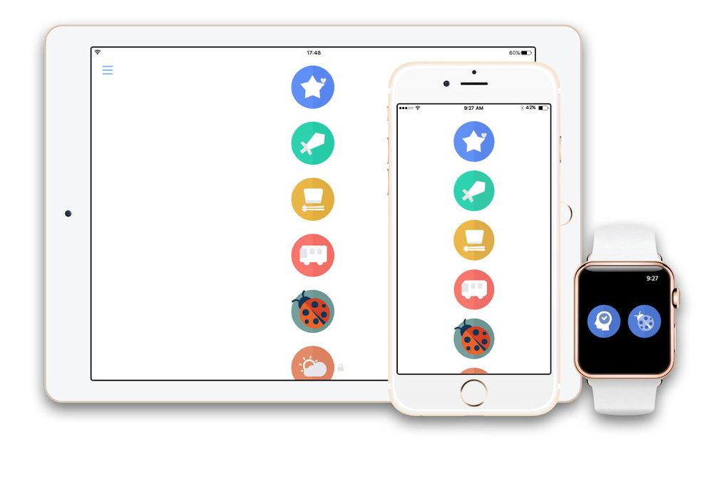 このアプリは日本語話者を対象とした英会話学習アプリです。アイフォーン機能を最大限活用して学習効果を高めています。