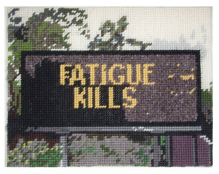 Michelle Hamer, Fatigue Kills, 2014