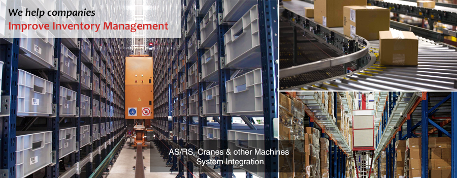 Inventory Management System | ASRS | Cranes | Conveyor Belts | Complex Machine Integrations | Gurusoft