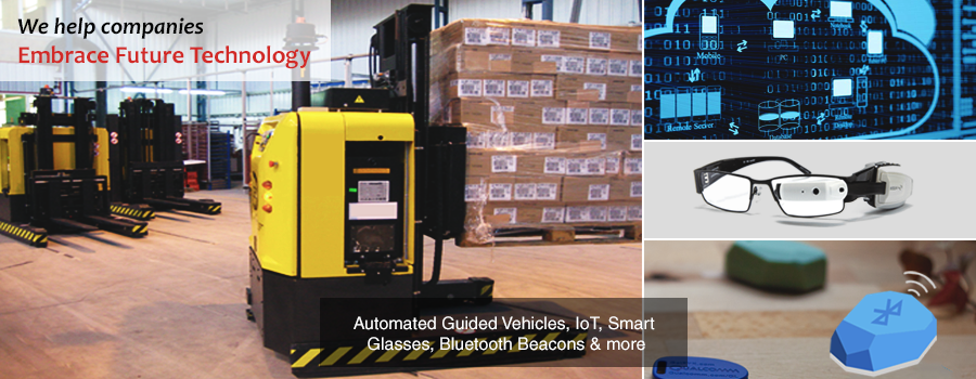 IoT | Automated Guided Vehicles (AGV) | Smart Glasses | Blockchain | Gurusoft