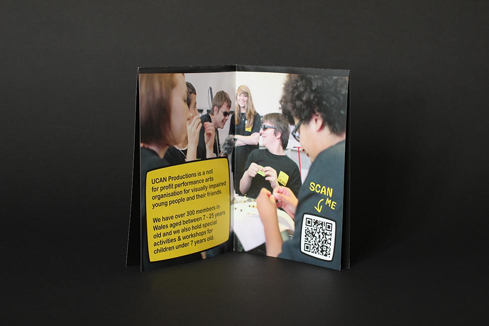 UCAN folded leaflet