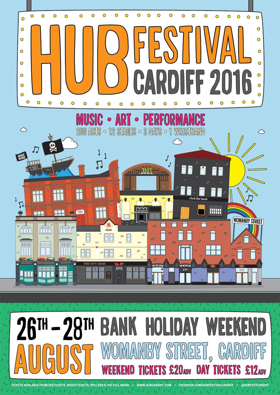 HUB fest 2016 poster