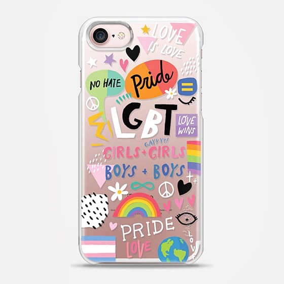LGBT Pride phone case now available on Casetify! Visit my site and click on CASETIFY in the menu bar to see this and more of my wildly colorful phone cases 🌷👑🦄😘🌈💕✨🎨 #lgbt #lgbtq #sanfrancisco #losangeles #castrodistrict #castro #la #sf #lgbtart #phonecase #casetify #iphonecase #illustrator #rainbow #gay #loveislove