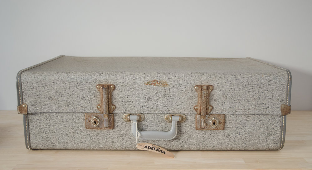 Grey Blizzard Suitcase -LARGE     $10.00 (3-day Hire)                                                                                                     Quantity: 1