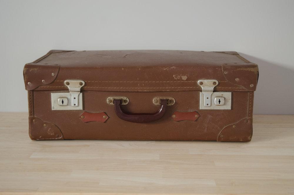 Newt Suitcase - MEDIUM    $10.00 (3-day Hire)                                                  Quantity: 1