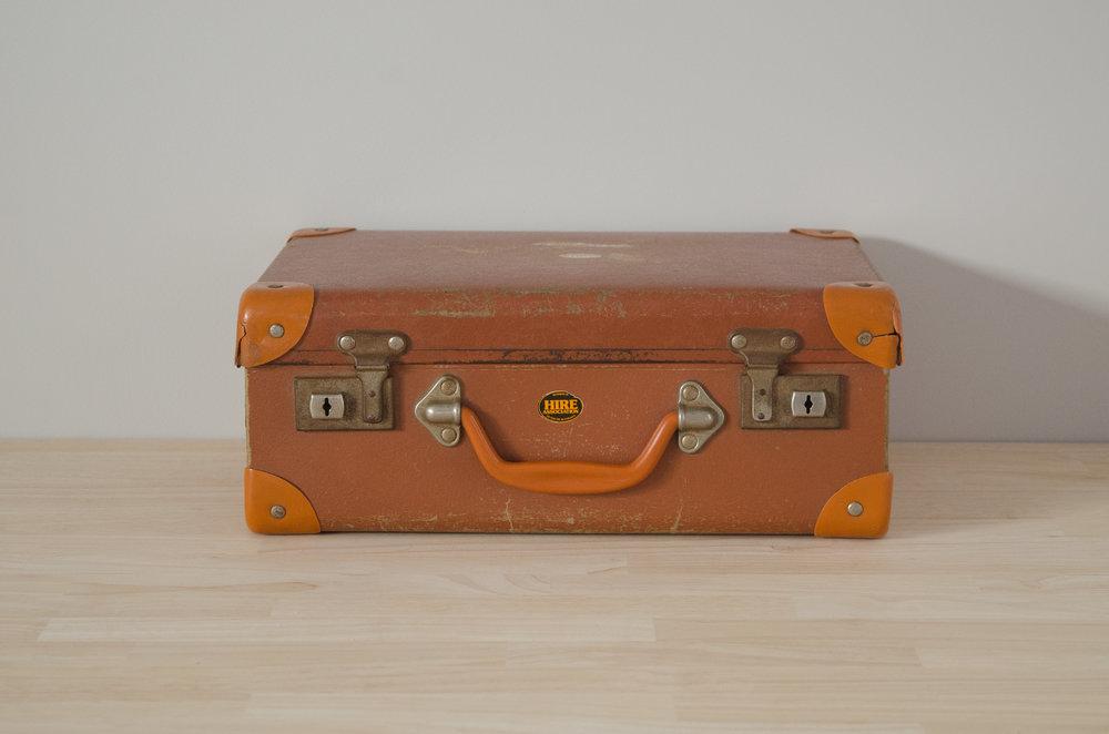 Simon Suitcase - SMALL   $5.00 (3-day Hire)                                                  Quantity: 1