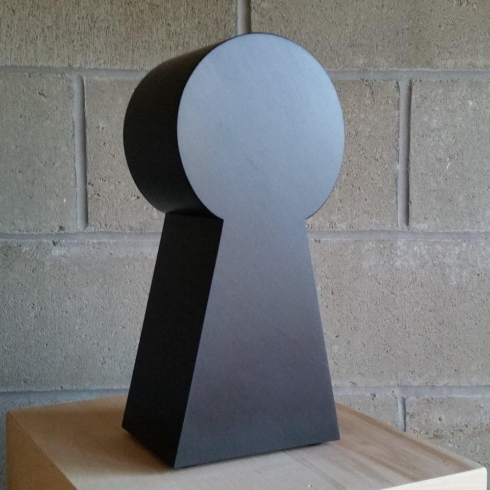Keyhole - black slate