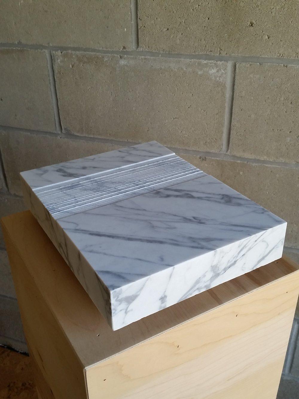 Volume - Carrara marble
