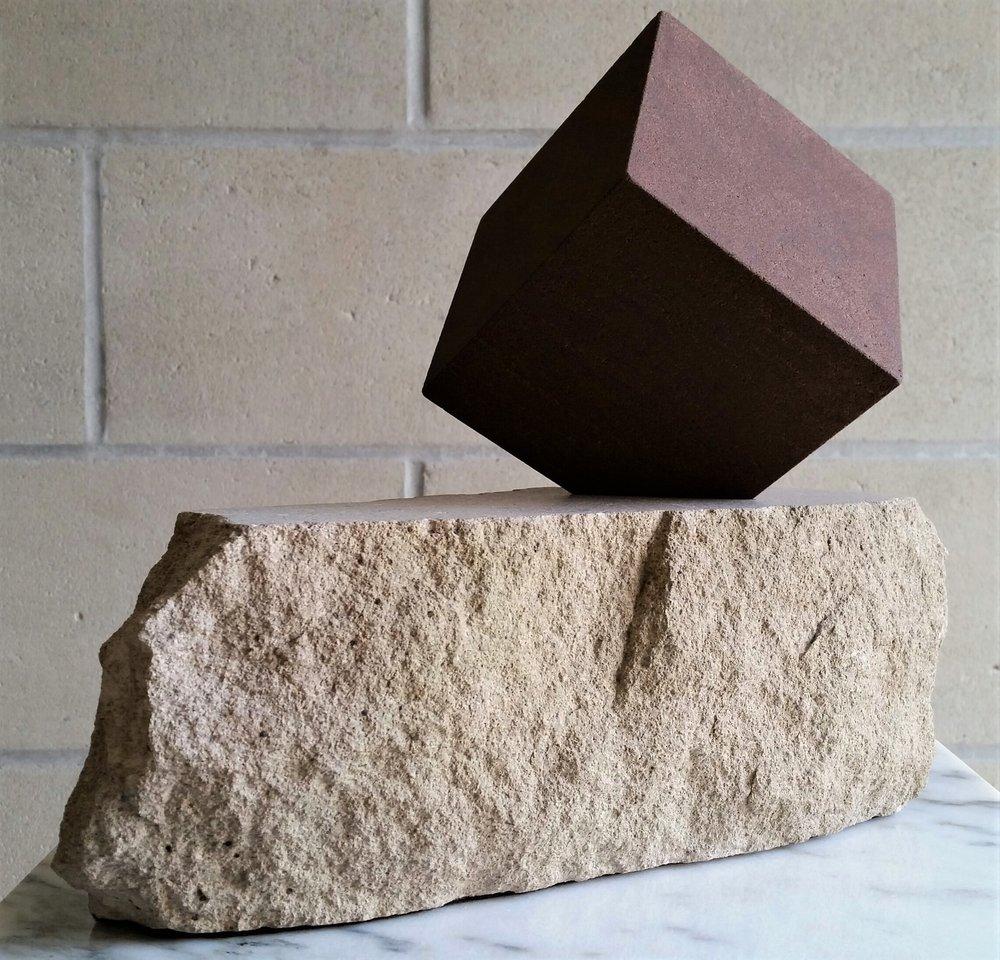 Cheesecake - brownstone cube, limestone