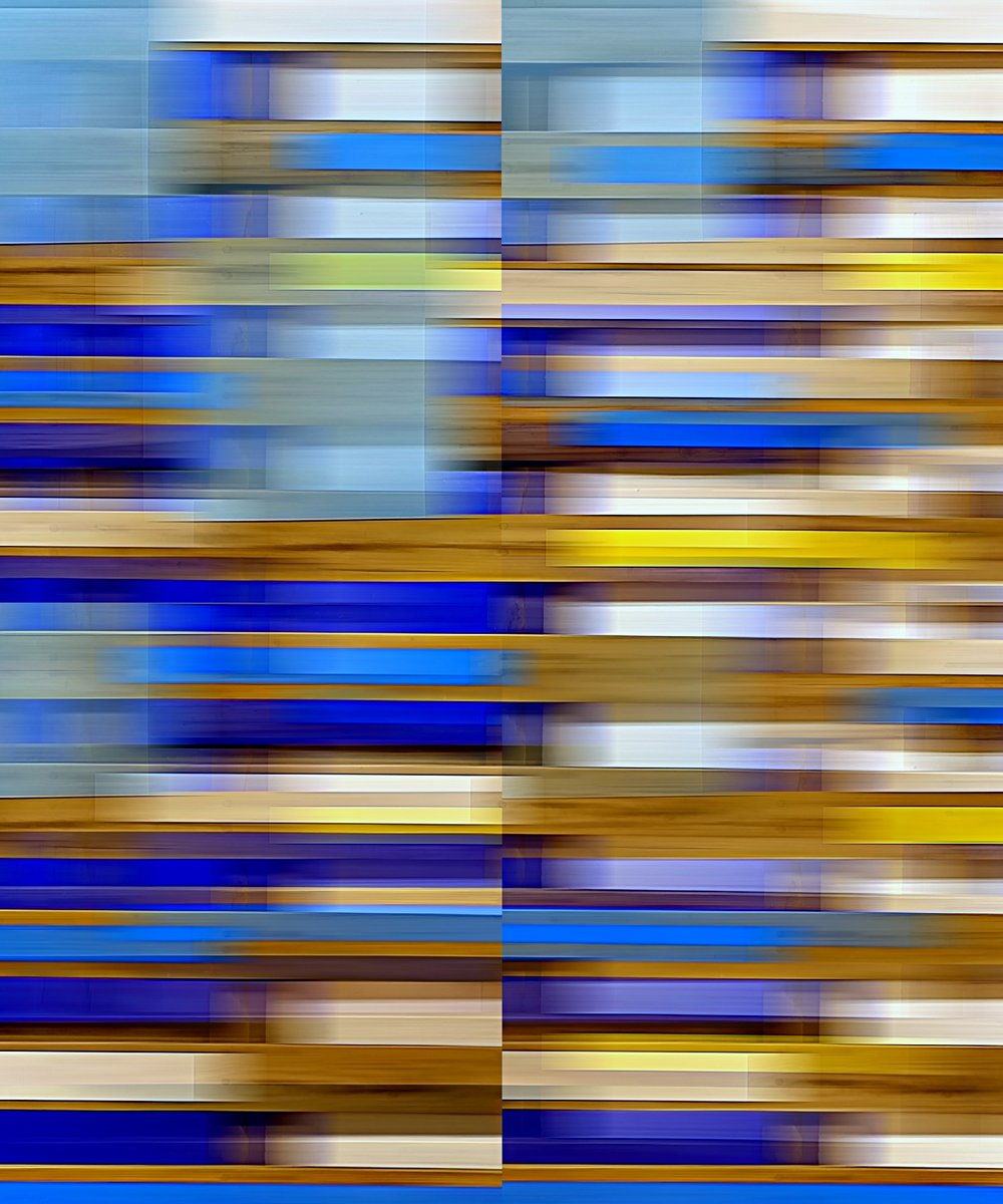pallet abstract blur with blue towel.jpg