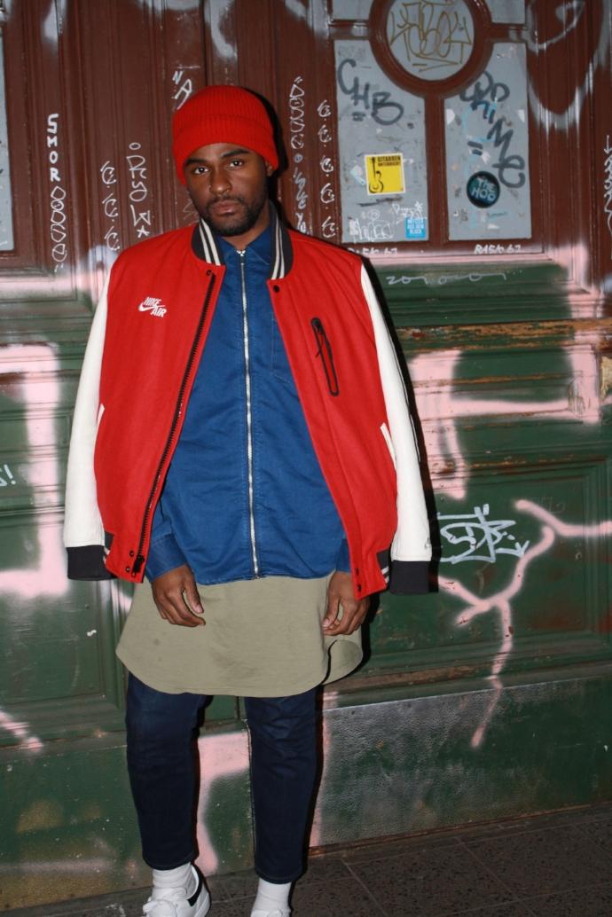 Pants:Joe Jeans Jacket:Nike Shirts:HM/Search & Destroy