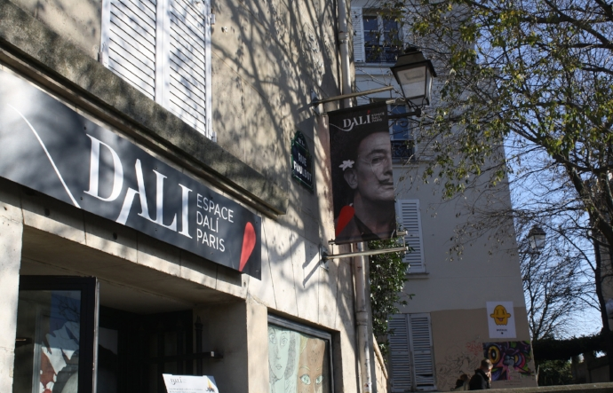 Salvador  Dalí  permanent exhibition
