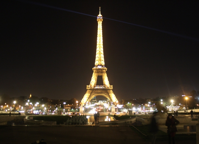The Eiffel Tower & all its glory