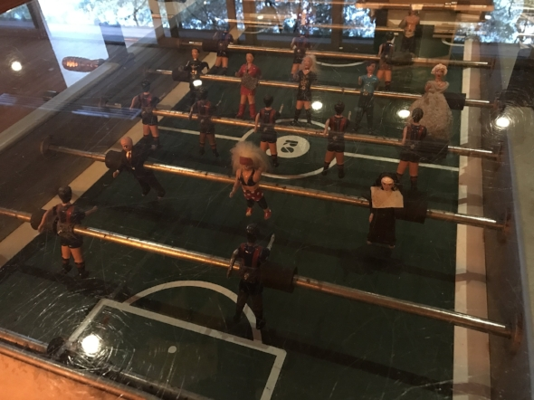 Foosball with a twist