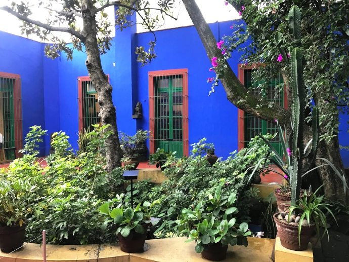Frida Kahlos home