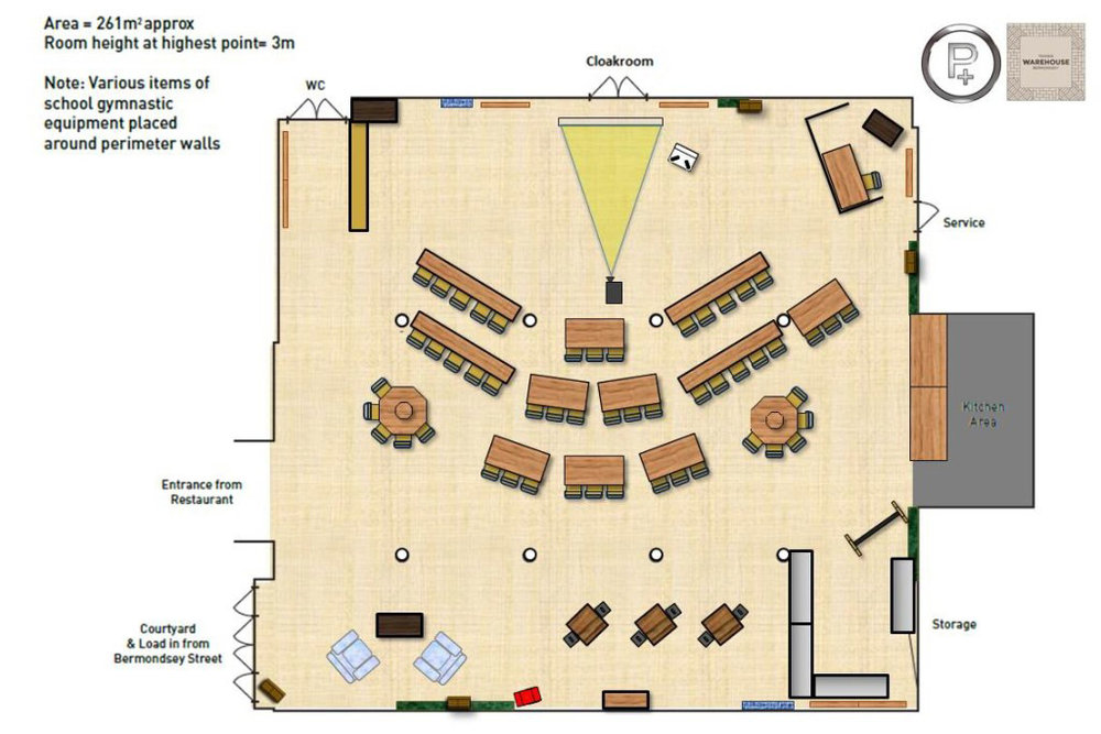 Tanners Classroom floorplan