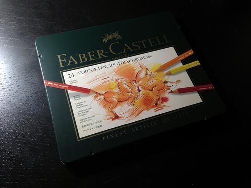 Faber Castell Polychromos tin