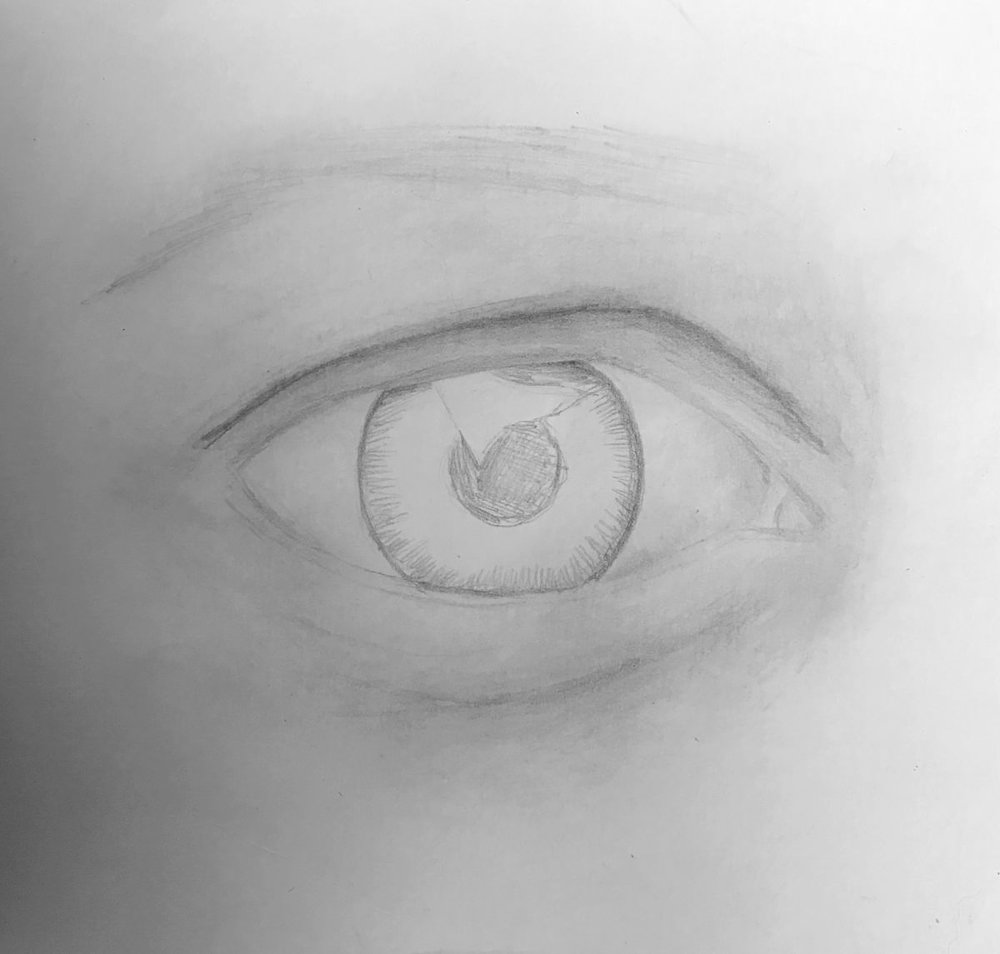 How To Draw A Realistic Eye In Graphite Timelapse Tutorial