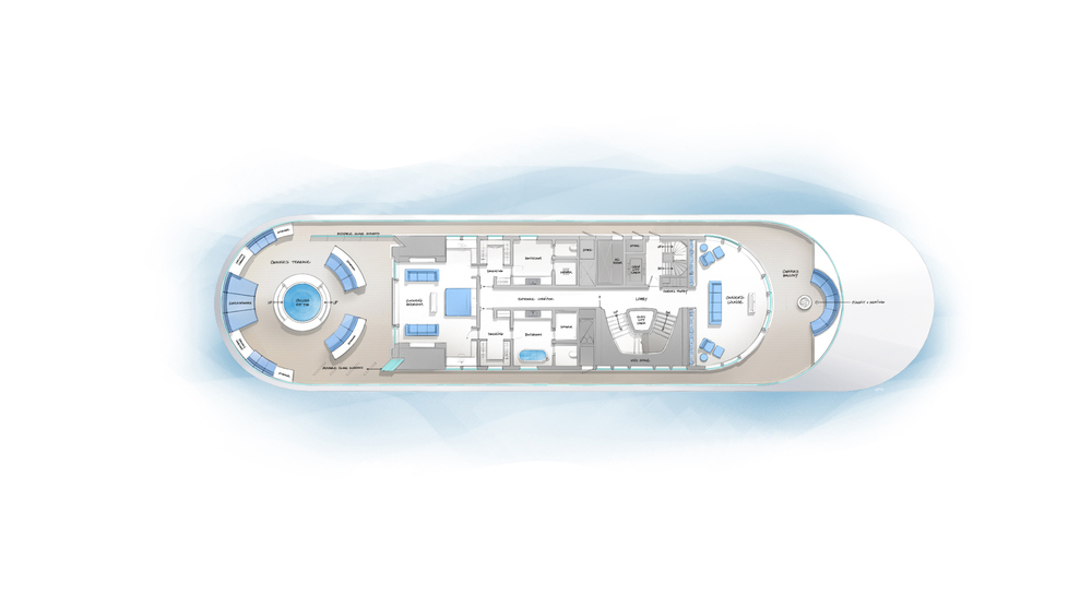 OWNER'S DECK LAYOUT