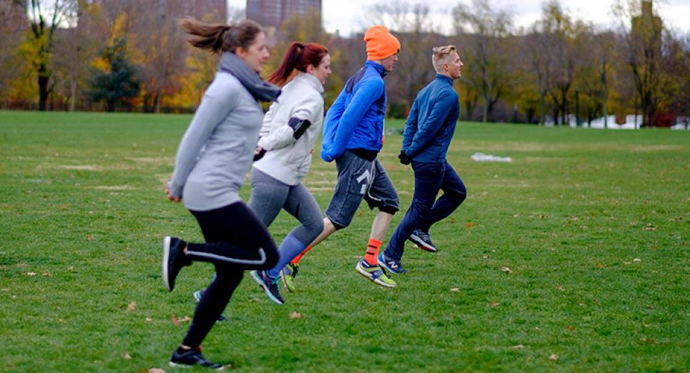 Crow Hill Running Club takes over Van Cortlandt Park!