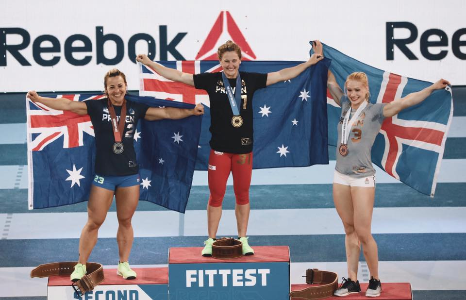 Huge congrats to Tia-Clair Toomey, the Fittest Woman On Earth!