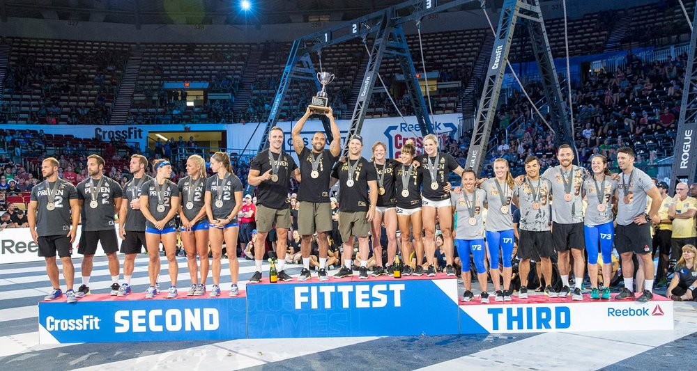 Congrats to Wasatch CrossFit, the Fittest Team On Earth!