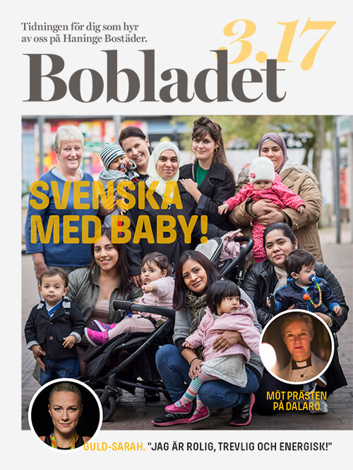 <strong>BOBLADET</strong><br>Magazine for tenants