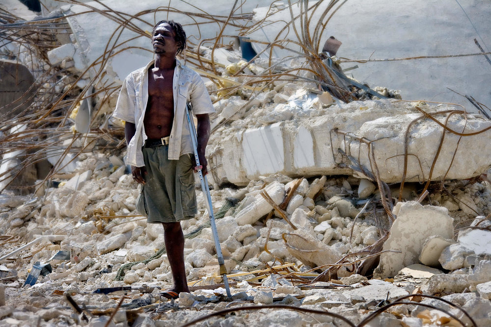 Earthquake made 1.3 million Haitians homeless.