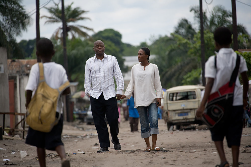 Democratic Republic of Kongo. DRC. Fidel and his girlfriend Lav Re Kitanu lives both with HIV.