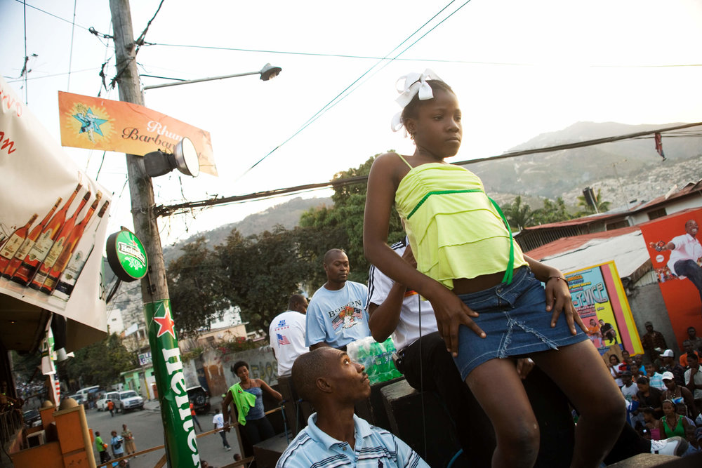 Haiti. The annual carnival in Port au Prince.