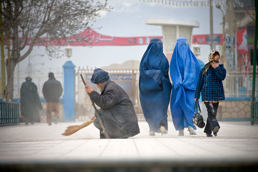 Afghanistan. Mazar-e-Sharif, north Afghanistan.
