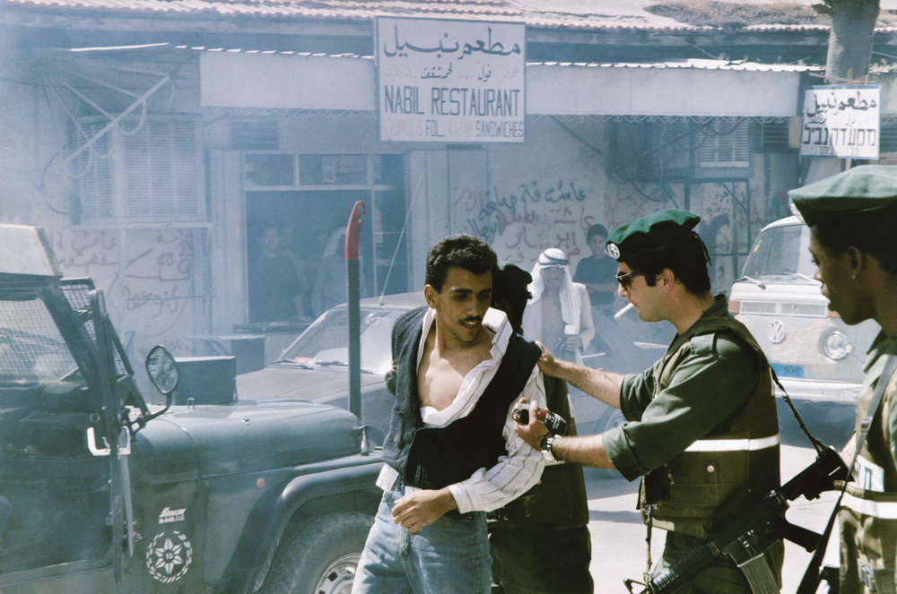Jericho. First intifada.