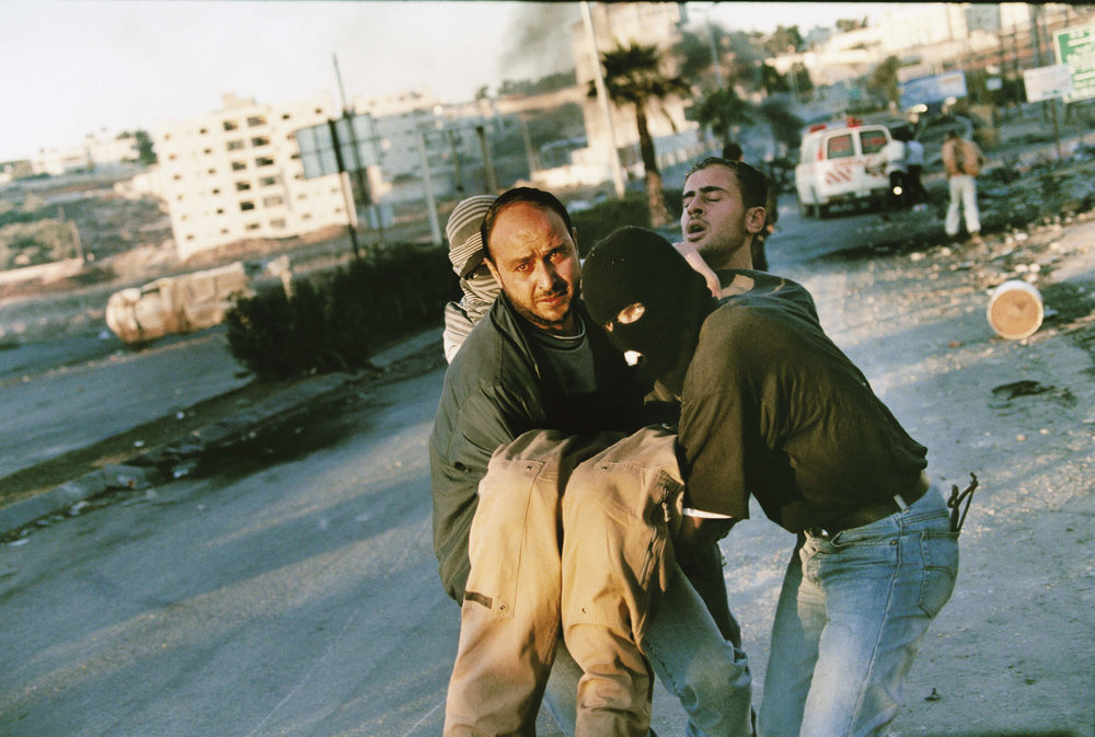 Ramallah. Second Intifada November 2000.