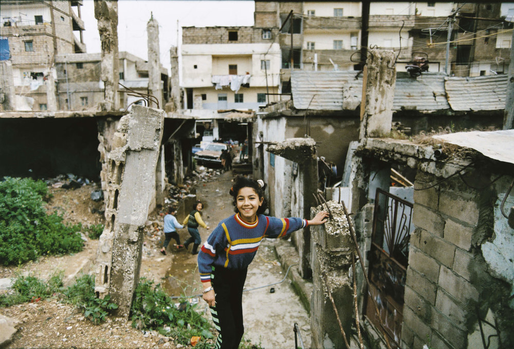 Lebanon. The Palestinian refugee camp Shatila in Beirut.