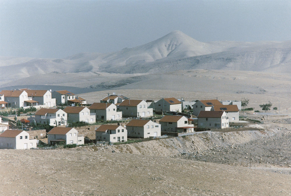 Westbank. The Israeli settlement Kedar