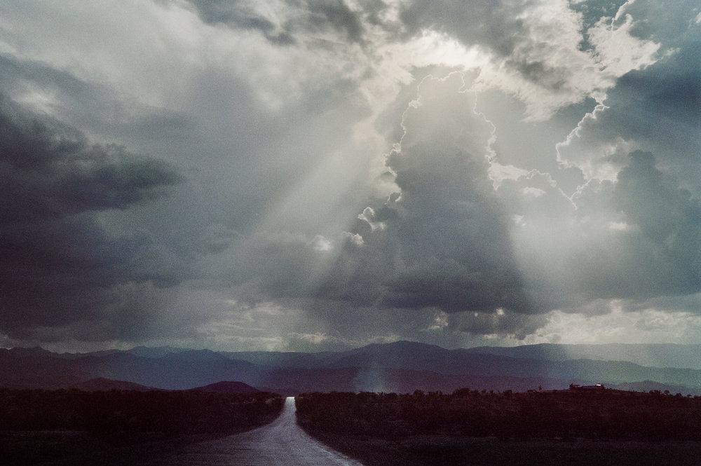 Landscape in Eritrea.