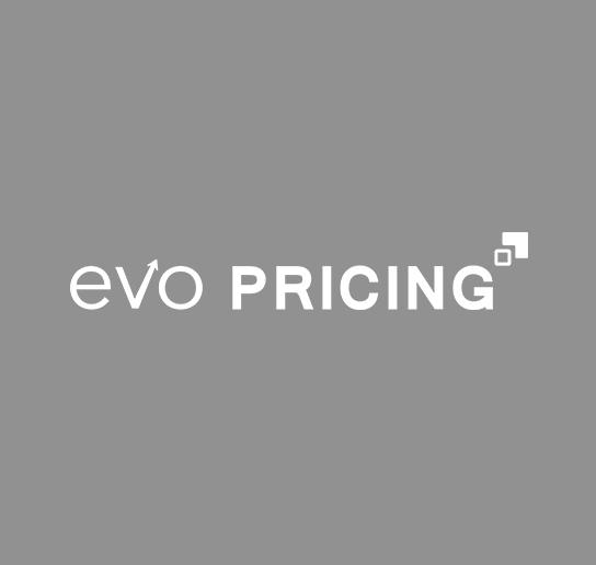Evo Pricing Logo - White