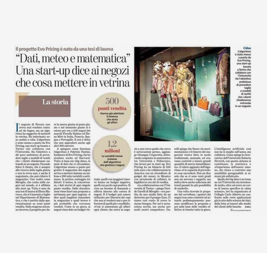 La Stampa - Article