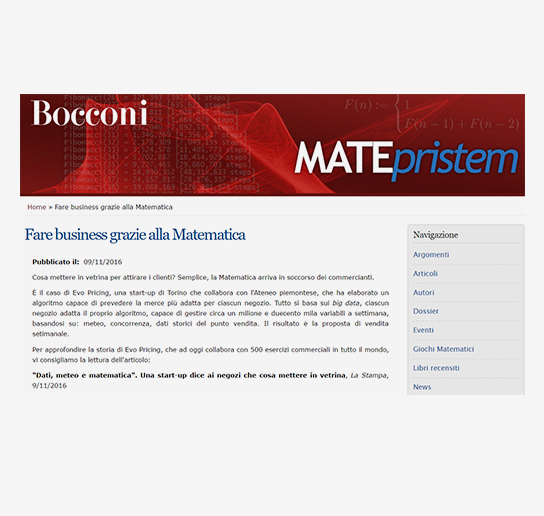 Bocconi - Article