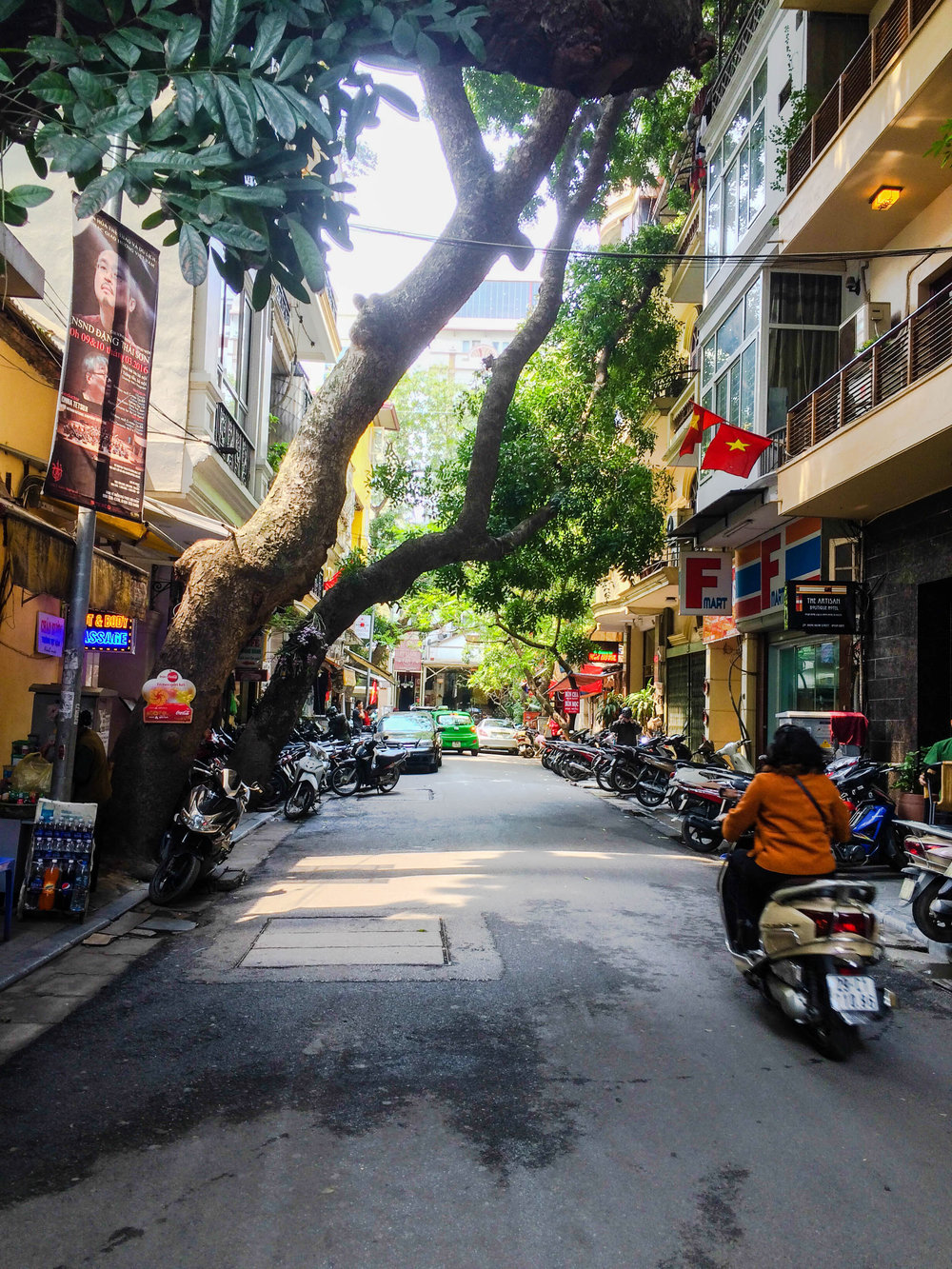 Hanoi, Vietnam the next morning. Did not disappoint.