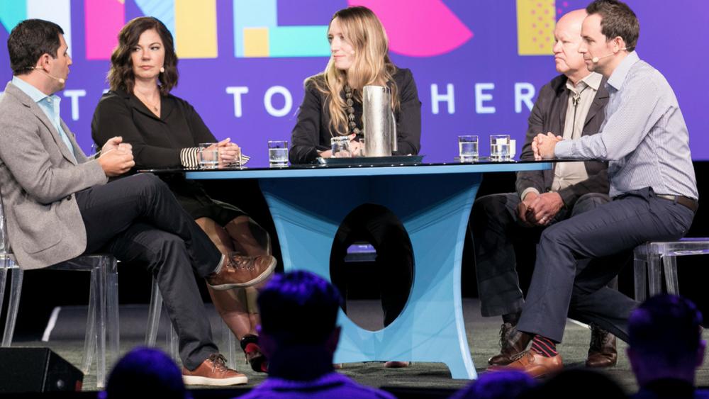 Keynote panel at Inman Connect in San Francisco, 2018.