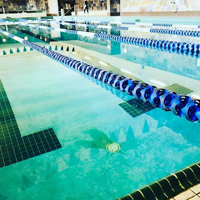 I can't be certain...but it appears the sheer force of my butterfly laps either knocked or scared all the other swimmers out of the pool. Sorry, not sorry. 😂💪🏼🏊🏻‍♂️#swim #swimming #saturdayswim #swimlife #phelps