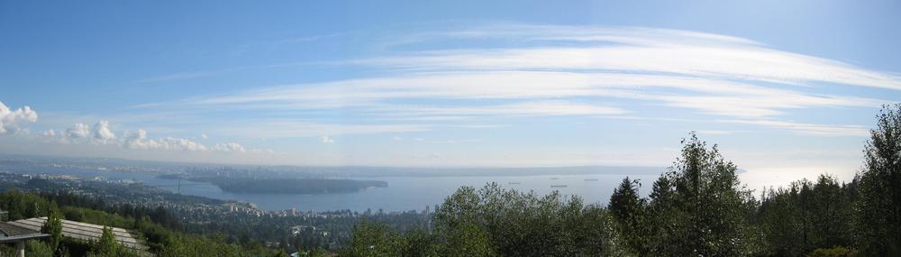 Ocean view - Wang Residence, W. Van., BC