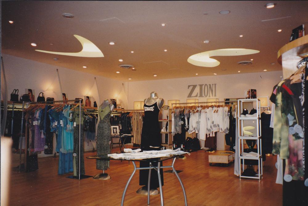 Tenant improvement - Karen Millen Store, Robson St., Vancouver, BC