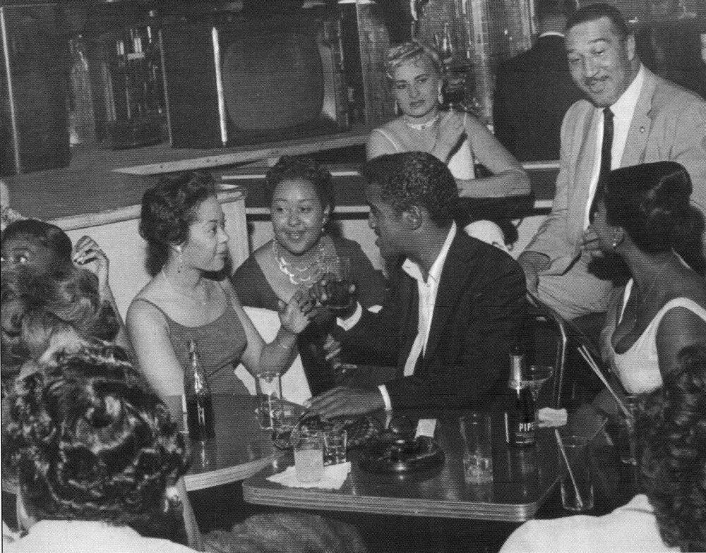 Sammy Davis, Jr. in Detroit