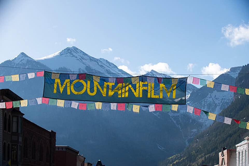 PURE LAND book and screenplay featured at MountainFilm 2018, in Telluride Colorado