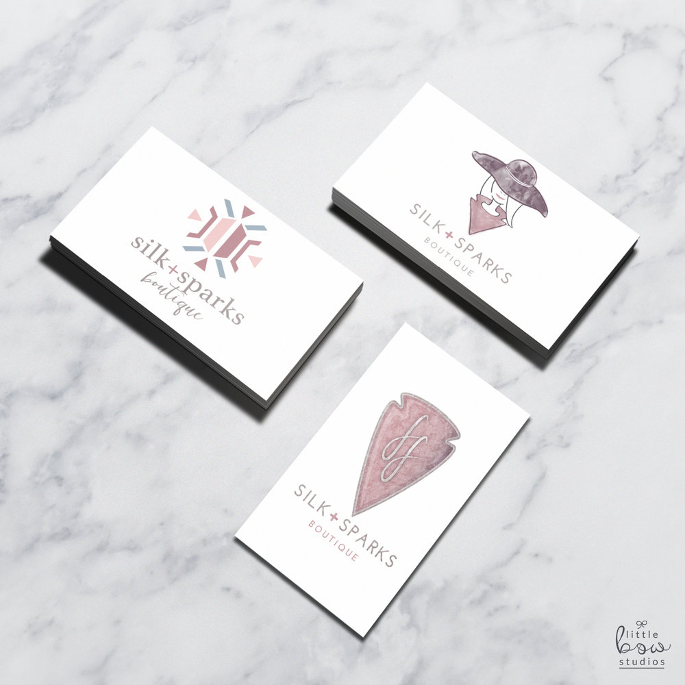 Logo Mockups for Fashion Boutique