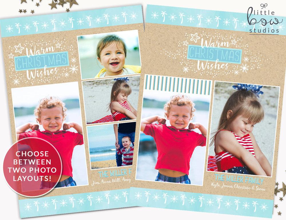 Holiday Photo Card: Family Vacation Christmas Card, Family Photo ...