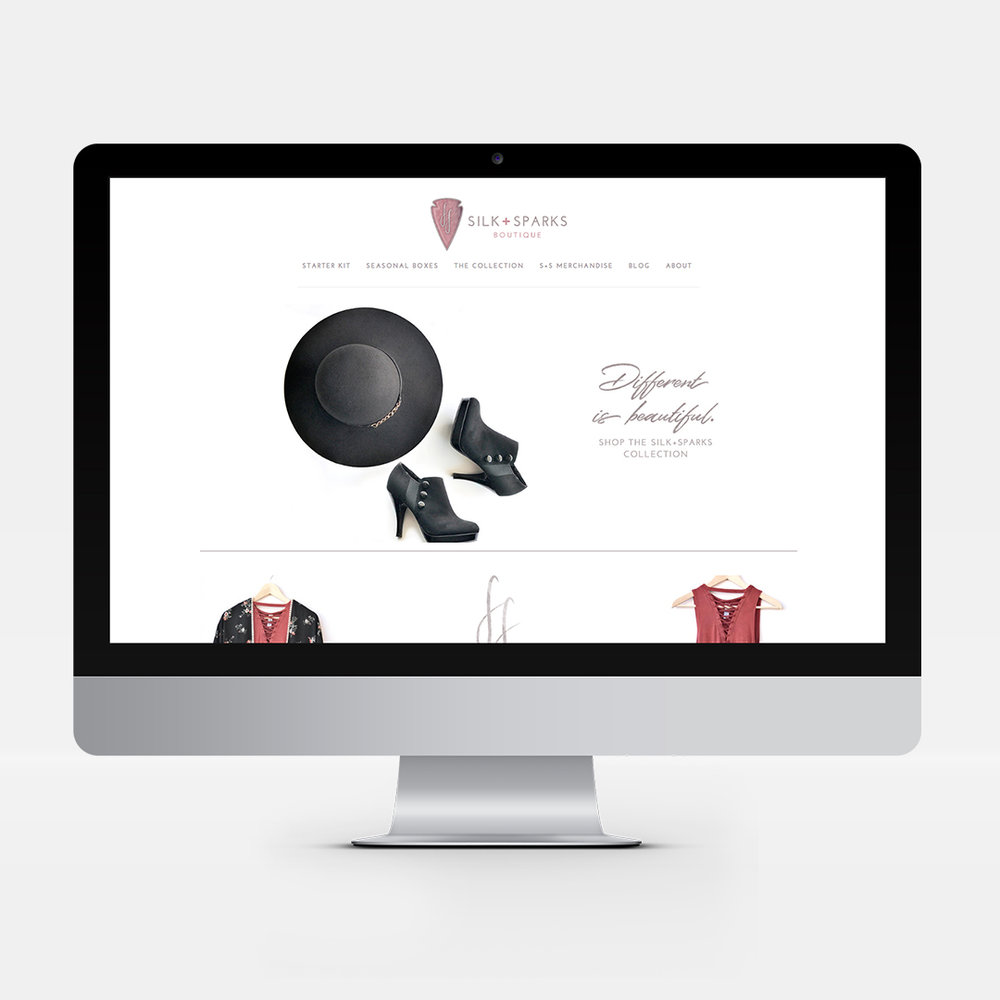 Full Website for Fashion Boutique
